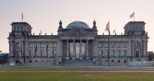 Reichstagsgebäude Panorama Stock Images
