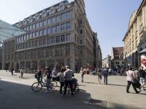 Reichstrasse street, Leipzig, Germany stock image