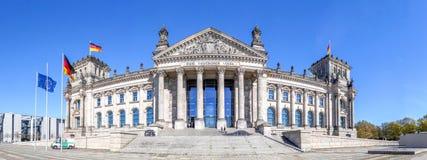 Reichtstag byggnad, Berlin Arkivfoto