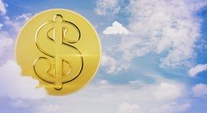 Reichtum und Einkommenskonzept Lizenzfreie Stockfotografie