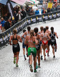 Reid, Clarke - biegający Zdjęcie Royalty Free