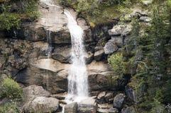 Reid Falls inférieur dans Skagway, Alaska Images libres de droits