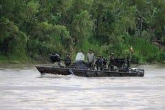 Reid Marines en el río Guaviarei foto de archivo