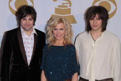 Reid Perry, Kimberly Perry, Neil Perry Royalty Free Stock Photography