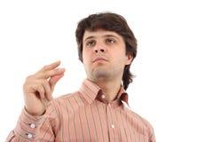 Reißende Finger Stockbilder