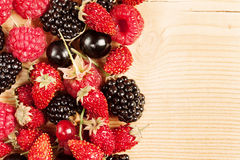 Reife Beeren Stockfoto