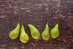 Reife Birnenfrucht Stockfoto