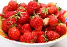 Reife Erdbeere Stockfotografie