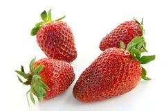 Reife Erdbeere Stockfotos
