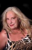 Reife Frau ihre mittleren Fünfziger Jahre Lizenzfreies Stockbild