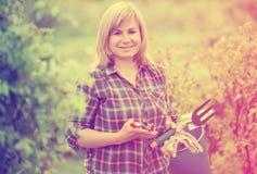 Reife Frauenwerkzeuge Stockfotos