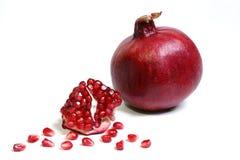 Reife Frucht eines Granatapfels. Stockfotografie