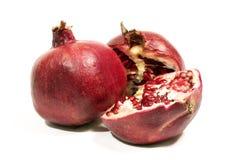 Reife Frucht eines Granatapfels. Stockfotos
