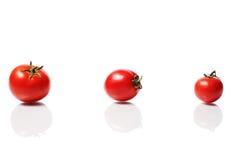 Reife Gruppe Tomaten Stockfoto