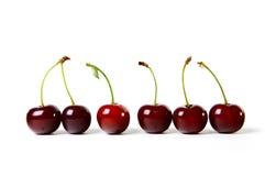Reife Kirsche der Beeren Stockbild