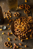 Reife Kneipen-Snack-Mischung Stockfotografie