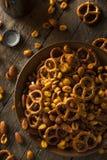 Reife Kneipen-Snack-Mischung Lizenzfreies Stockfoto