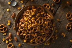 Reife Kneipen-Snack-Mischung Lizenzfreies Stockbild