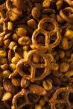 Reife Kneipen-Snack-Mischung Lizenzfreie Stockfotografie
