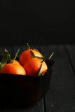 Reife Mandarine lizenzfreies stockfoto
