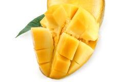 Reife Mango der Scheibe Lizenzfreies Stockfoto