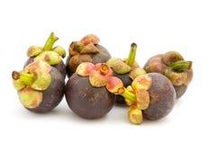 Reife Mangostanfrüchte Stockfotografie