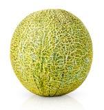 Reife Melone getrennt auf Weiß Lizenzfreies Stockbild