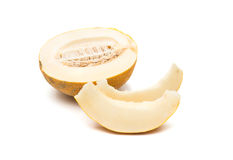Reife Melone lokalisiert stockfotos