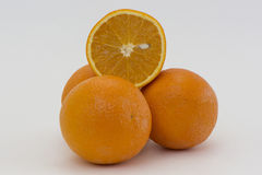 Reife Orange des Hügels Lizenzfreies Stockfoto