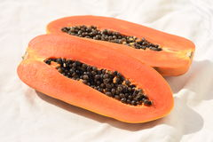 Reife Papaya Lizenzfreies Stockfoto