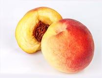 Reife Pfirsichfrucht Lizenzfreie Stockbilder