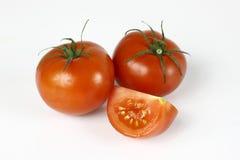 Reife rote Tomaten Lizenzfreie Stockfotografie