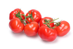 Reife Tomaten Lizenzfreies Stockfoto