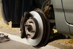 Reifen-Änderung lizenzfreie stockfotografie