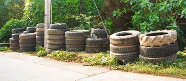 Reifen benutzt Lizenzfreie Stockfotos