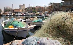 Reifen-Hafen, der Libanon lizenzfreies stockbild