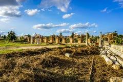 Reifen-Hippodrom und Friedhof 15 stockfotografie