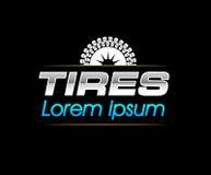 Reifen Logo Design Stockfotos