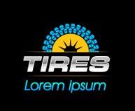 Reifen Logo Design Stockbilder