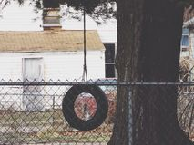 Reifen-Schwingen Stockbilder