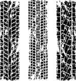Reifen spürt Schmutz auf Lizenzfreie Stockbilder