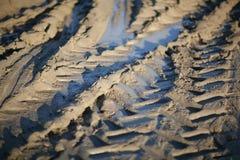Reifen-Spuren Stockfotos