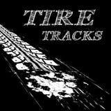 Reifenbahnen Stockfoto