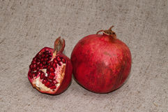 Reifer Granatapfel Stockfotografie