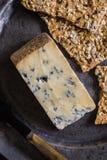 Reifer Stilton-Käse stockbilder