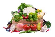 Reifes Gemüse. Gesunde Ernährung. Stockfoto