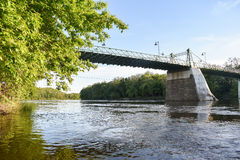 Reiglesville-Brücke Stockfotografie