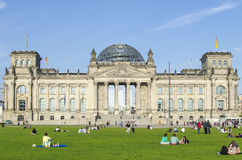 Reichstag Building, Berlin Stock Image