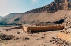 Reihe Bilder von berühmten Monumenten und Orte von Ägypten Lizenzfreie Stockfotografie