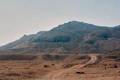 Reihe Bilder von berühmten Monumenten und Orte von Ägypten Stockfoto